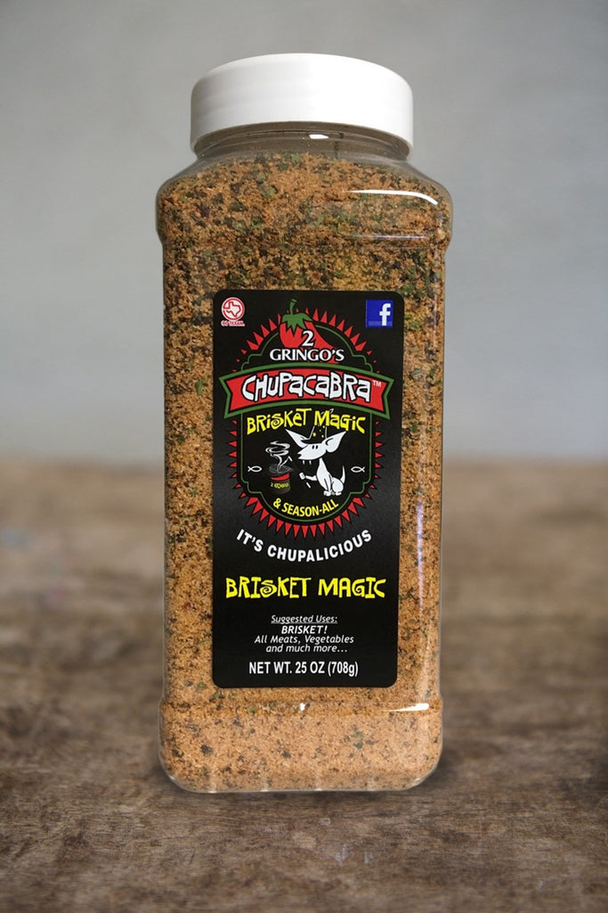 Chupacabra Rub-Brisket Magic 25oz
