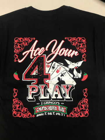 Black 4 Play T-Shirt