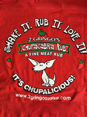 2 Gringos Chupacabra Screen Print T-Shirt