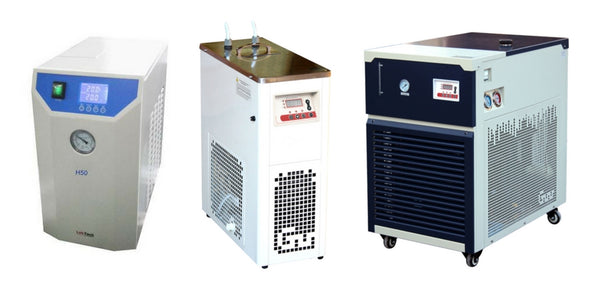 Recirculating chiller examples.