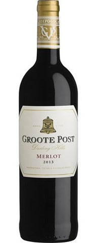 2017 Merlot, Groote Post, Darling