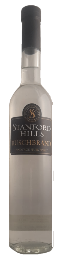 BUSCHBRAND Pinotage grape spirit (Grappa), 43%Vol., Stanford Hills, Walker Bay