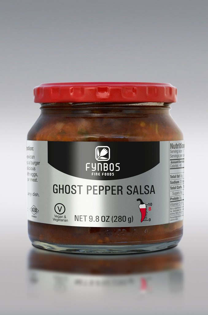 Ghost Pepper Salsa, Cape Hothouse Fynbos Fine Foods, Swartland