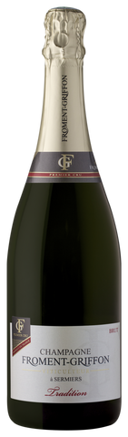 1. Cru Brut Tradition AOC, Froment-Griffon, Champagne