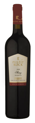 2013 Shiraz Reserve, Pulpit Rock, Swartland