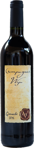 2016 Oude Wijn Grenache, Oude Compagnies Post, Tulbagh