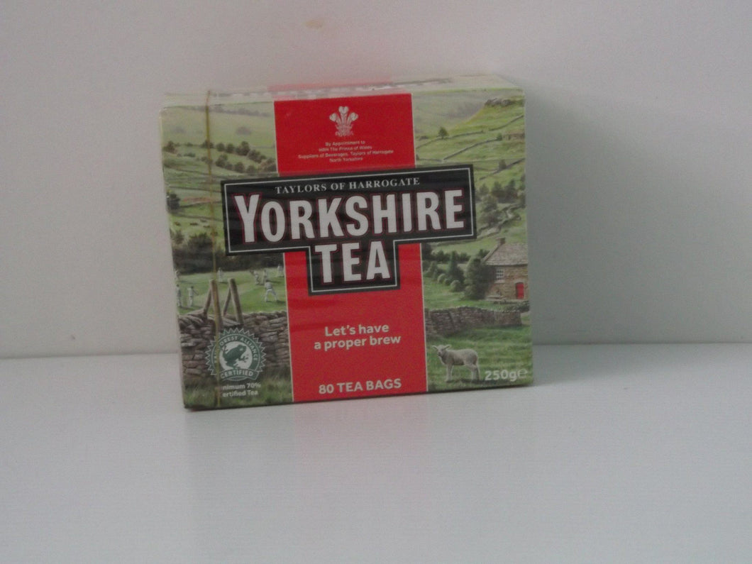 Taylors Yorkshire Regular Tea Bags 80 Bags Beverages- Teas Paisley's