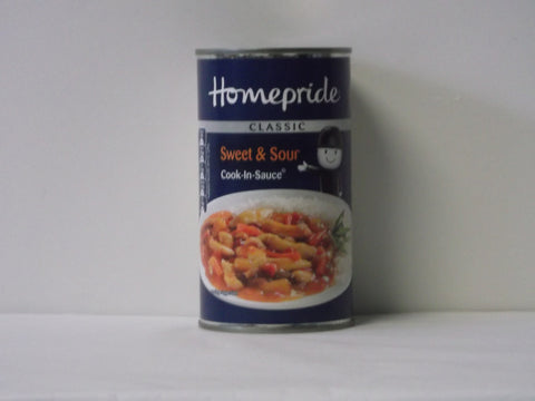 Homepride Classic Sweet and Sour Cook-in-Sauce 400g