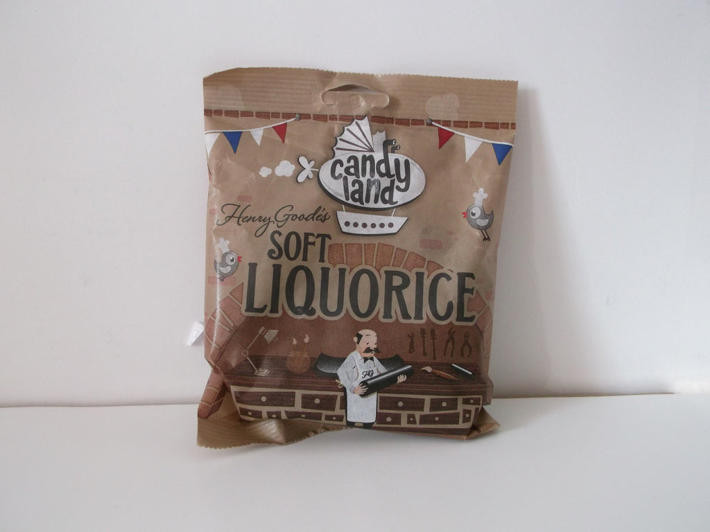 Candyland Henry Goode's Soft Eating Liquorice 140g