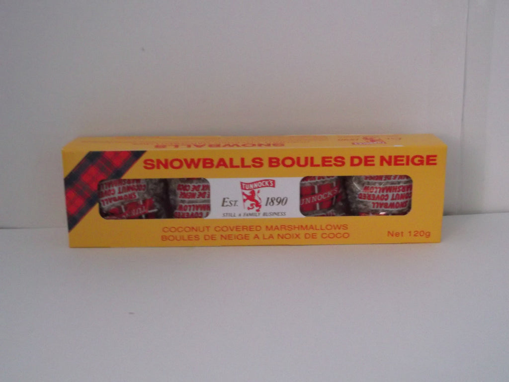Tunnock's Snowballs 4 Pack