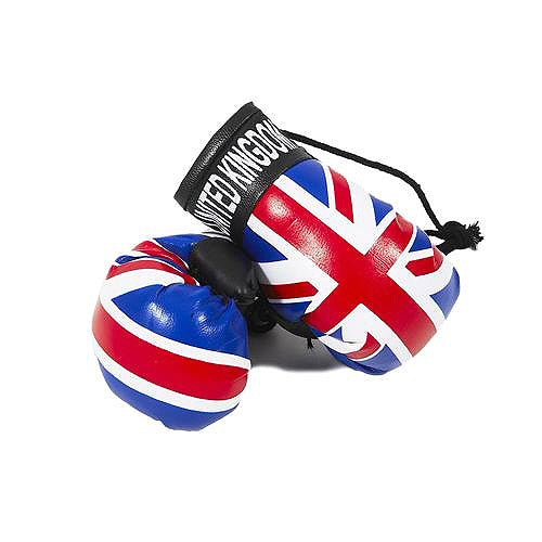 Union Jack Mini Boxing Gloves