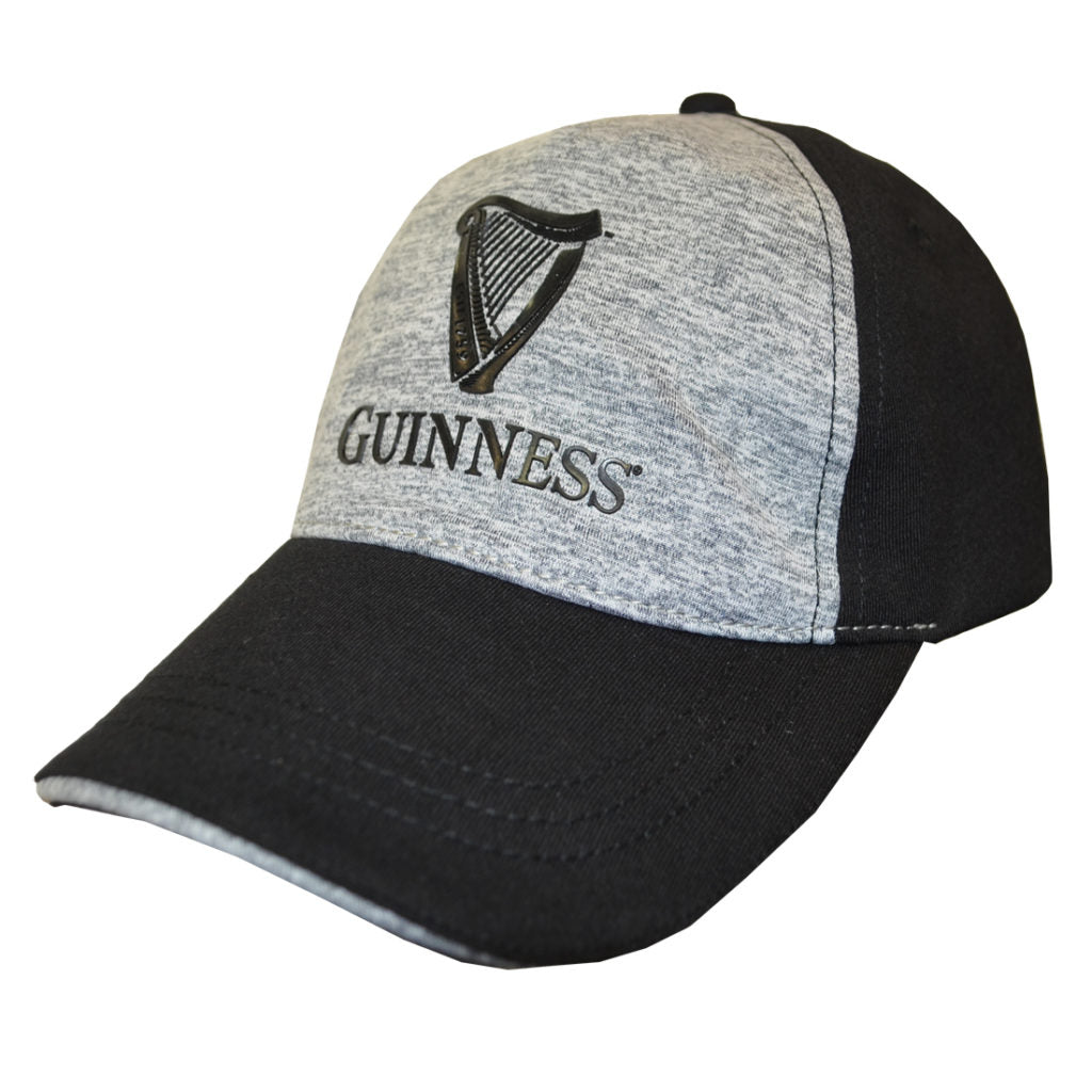 GUINNESS – BLACK AND GREY PERFORMANCE BASEBALL HAT