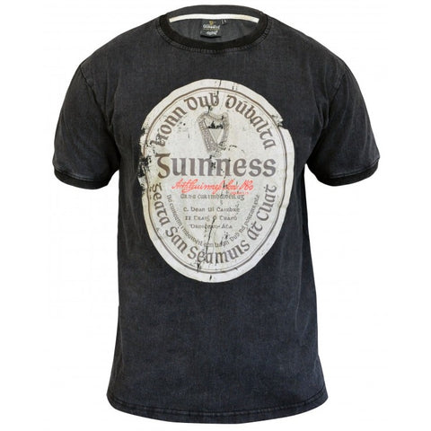 GUINNESS – DISTRESSED GAELIC LABEL T-SHIRT