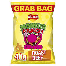 Monster Munch Roast Beef 40g