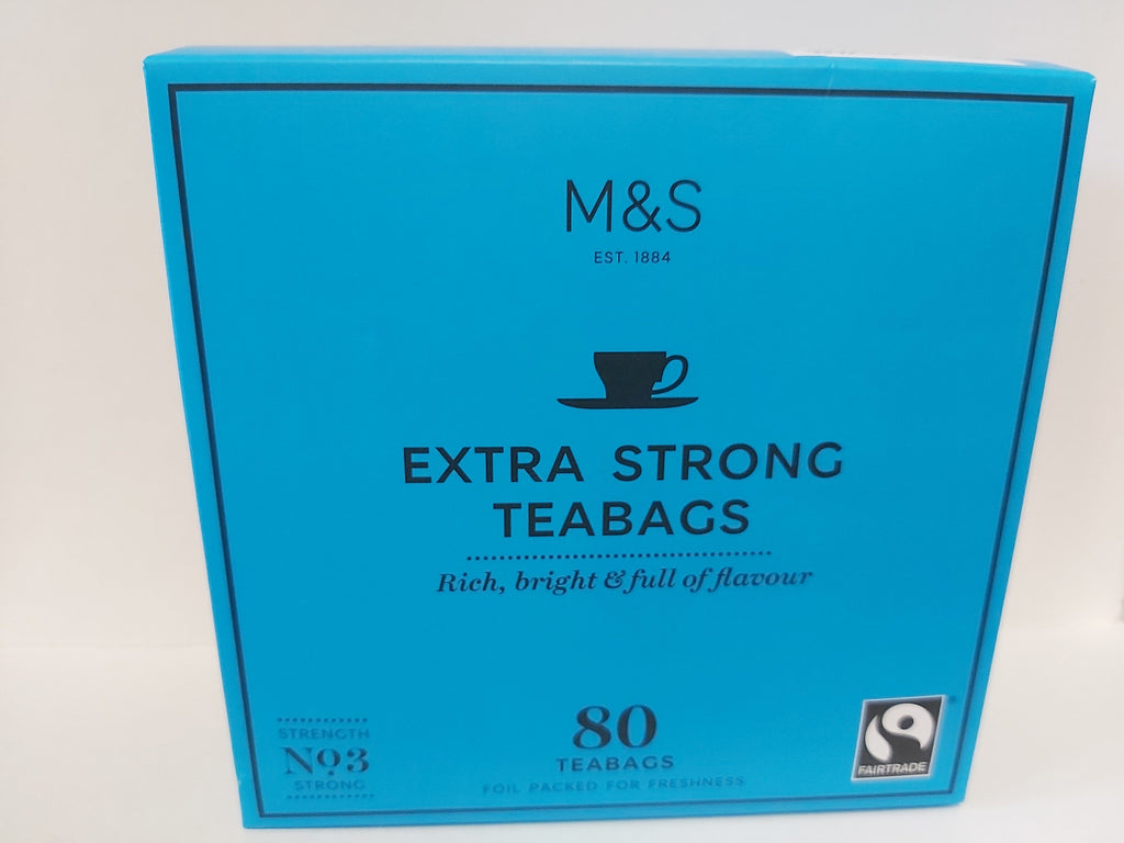 Marks & Spencer Extra Strong Tea 80 Bags