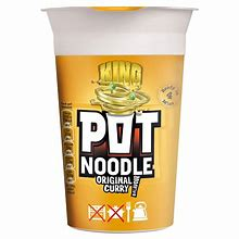 Pot Noodles Original Curry King Size 114g