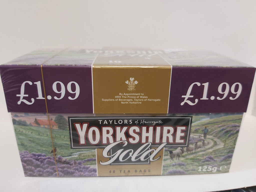 Yorkshire Gold Tea 40 bags