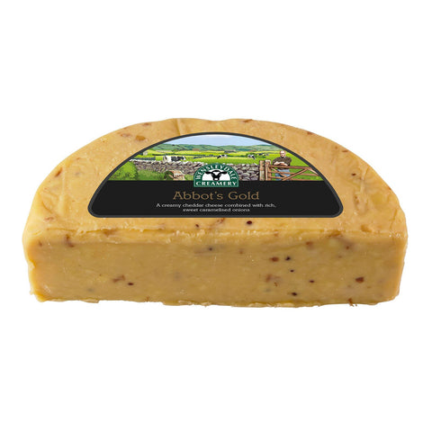 Abbot's Gold Carmellised Onion Cheddar Cheese 150 g