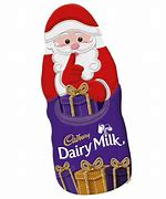 Cadbury Hollow Chocolate Santa 45g