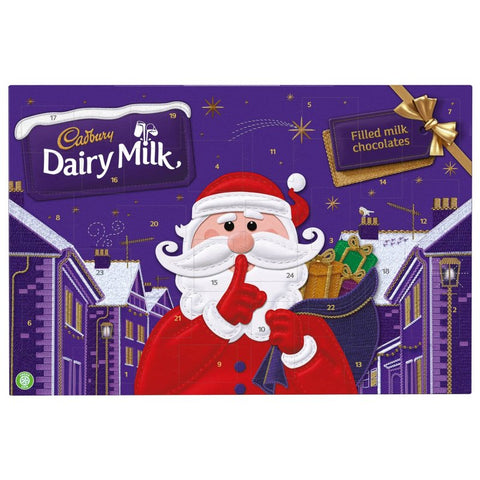 Cadbury Secret Santa Advent Calendar 200g