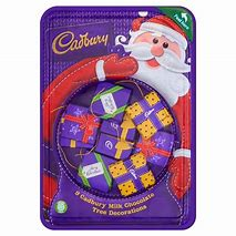 Cadbury Dairy Milk Parcel Tree Decorations 83g