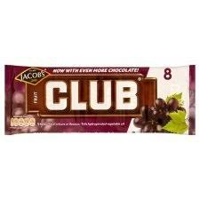 Mcvitie's Club Fruit 8 Pack