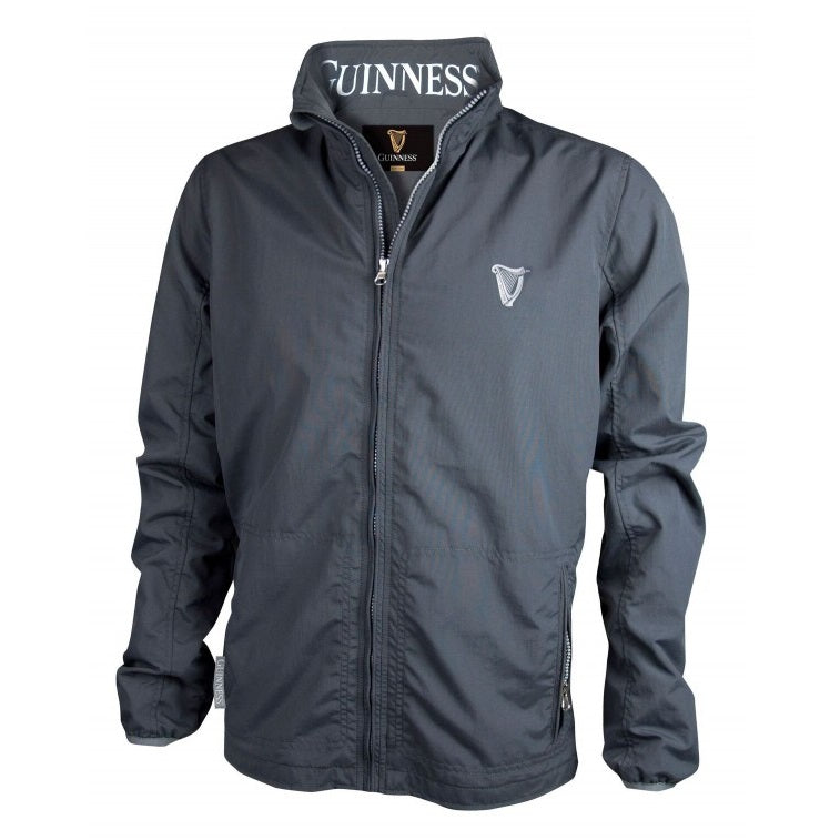 GUINNESS – GREY WIND BREAKER JACKET