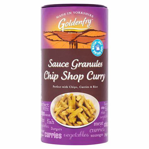 Goldenfry Chip Shop Curry Granules 2500g