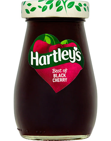 Hartley's Best Black Cherry Jam 340g