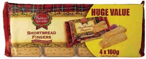 Highland Specialty Shortbread Fingers 400g