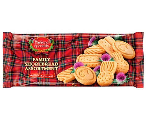 Highland Specialty Family Shortbread Assortment 300g