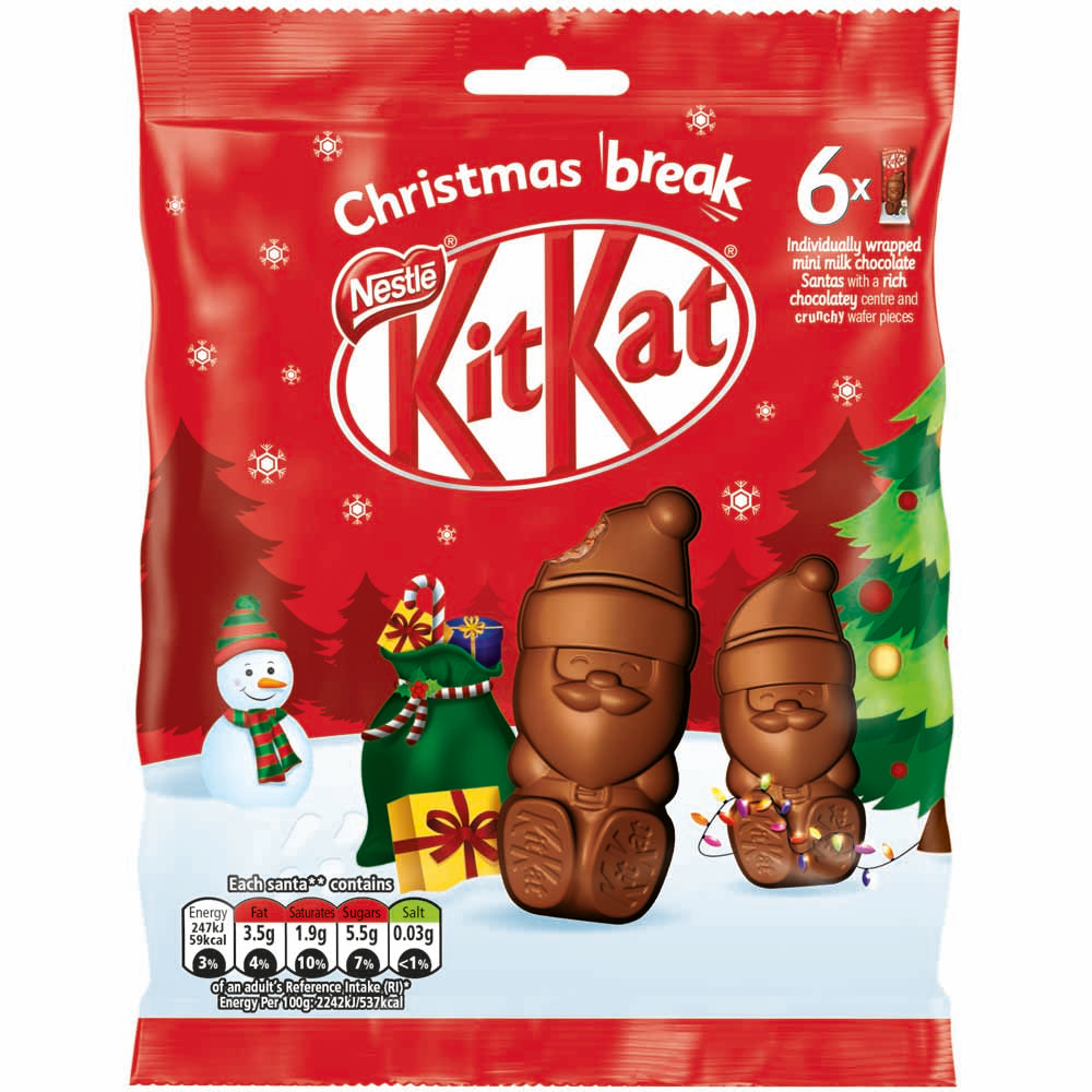 Nestle's Kit Kat Santa's Sharing Bag 55g