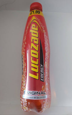 Lucozade Original 1L Beverages- Carbonated Drinks Paisley's