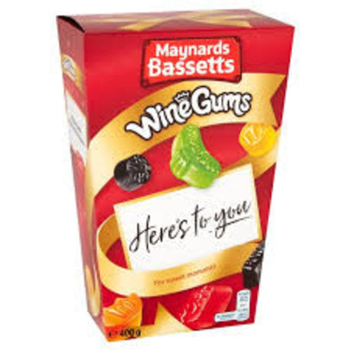 Maynards Bassetts Wine Gums Carton 400g