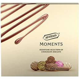 McVitie's Moments Signature Chocolate Biscuit Selection 400g