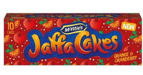 McVitie's Jaffa Cake Orange and Cranberry 10pk