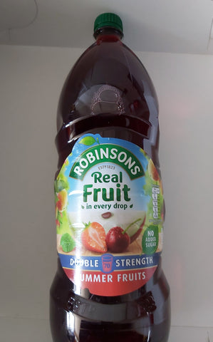 Robinsons Double Strength Summer Fruits Concentrate 1.75L