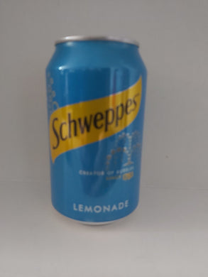 Schweppes Lemonade 330ml Beverages- Carbonated Drinks Paisley's