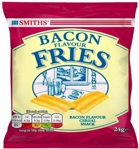 Smiths Bacon Flavoured Fries 24g