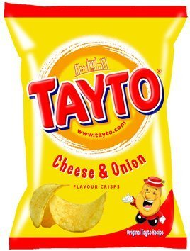 Tayto's Cheese and Onion 37.5g