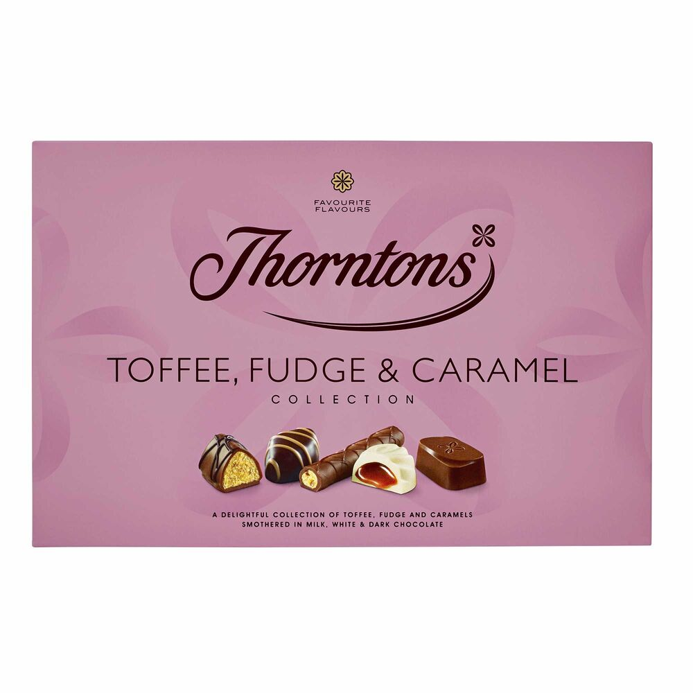 Thornton's Toffee Fudge and Caramel Collection 247g
