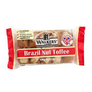 Walkers' Andy Pack Brazil Nut Toffee 100g