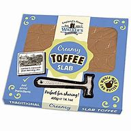 Walker's Nonsuch Creamy Toffee Slab  with Hammer 400g