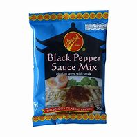 Yeung's Black Pepper Sauce Mix 70g