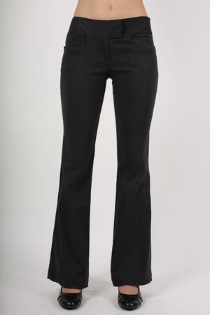 Bengaline Frog Pocket Trousers in Charcoal Grey 1