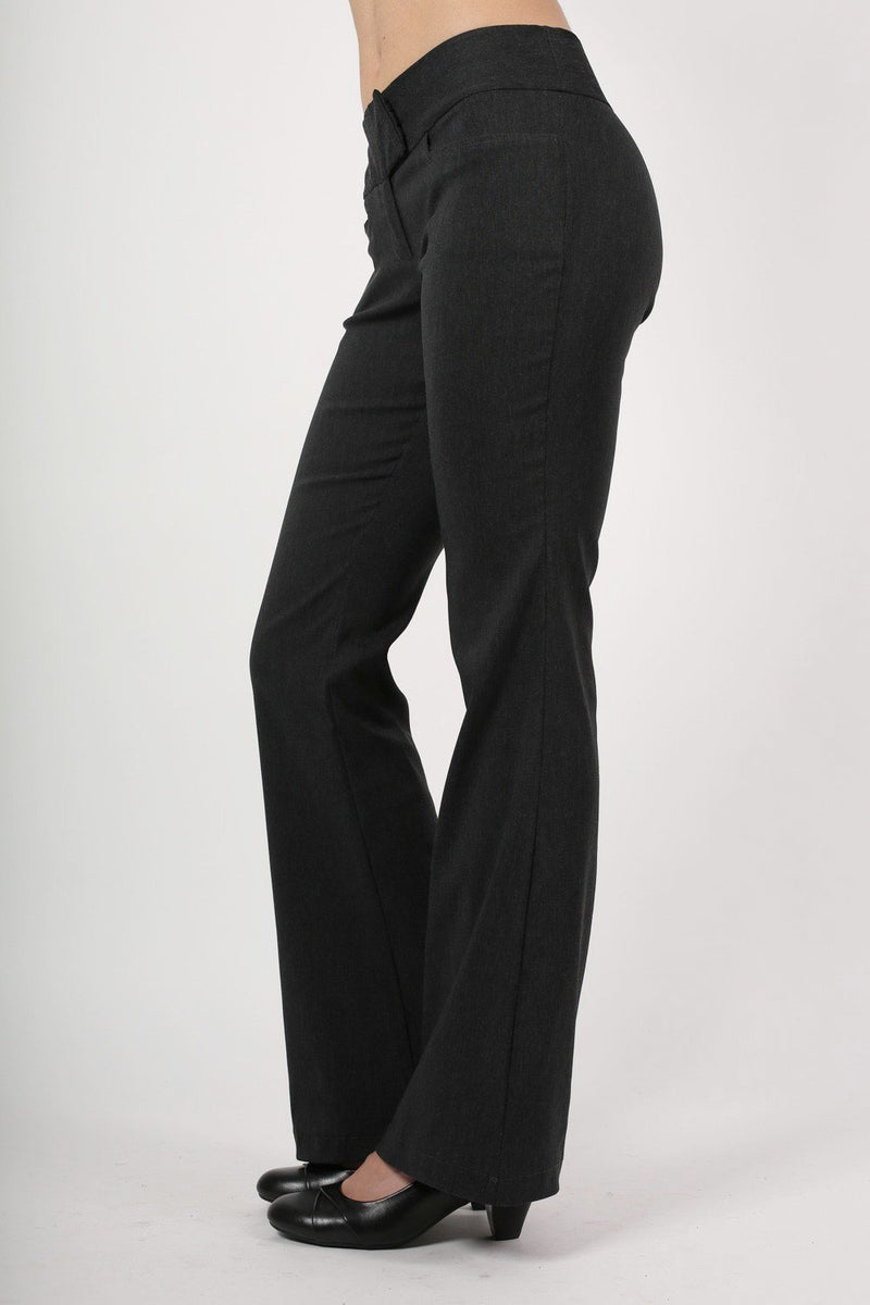 Bengaline Frog Pocket Trousers in Charcoal Grey 3
