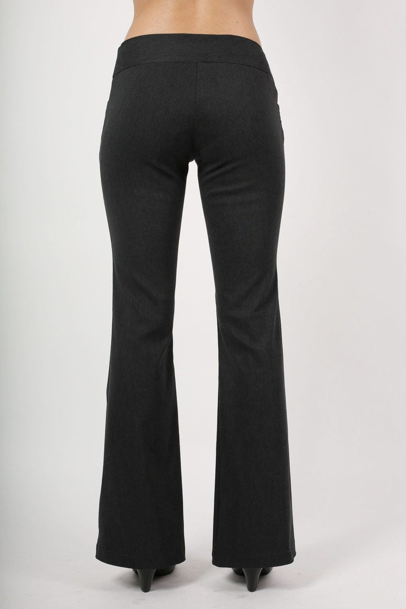 Bengaline Frog Pocket Trousers in Charcoal Grey 4