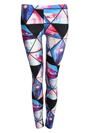 Geometric Print Leggings 2