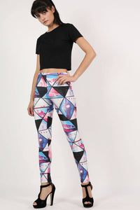 Geometric Print Leggings 0