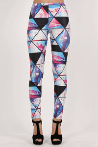 Geometric Print Leggings 1